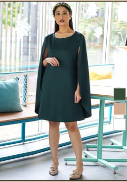 PALETTE cape dress