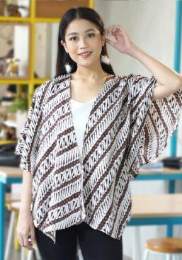 batik layer coklat