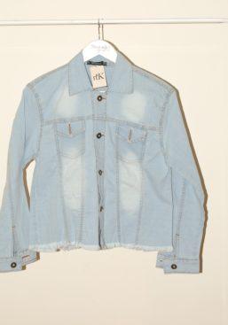 alexa fringe jeans jacket