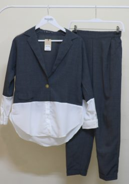 ludy formal set grey