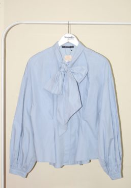 caren ribbon shirt