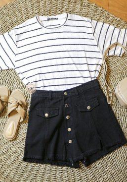 stripe shortsleeve
