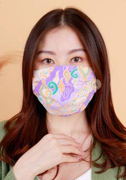 batik pastel mask